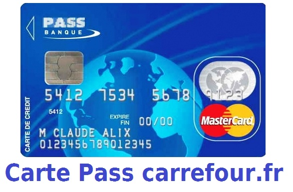 www.carrefour.fr carte de fidelite Carrefour.fr Carte PASS : Avantage, Fidélité, Mastercard