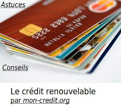 crédit revolving renouvelable