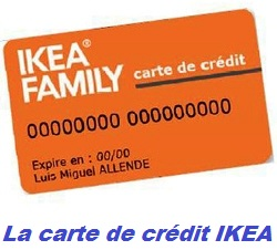 carte crédit ikea