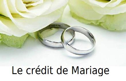 credit de mariage