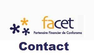 facet contact