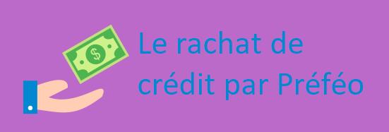 rachat credit prefeo