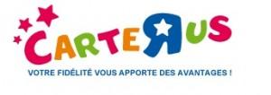 Logo de carte r us (la carte fidélité toys r us)