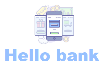 illustration hello bank