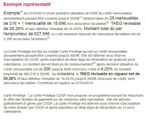 carte officiel cdgp