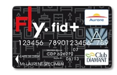 carte fly fid +
