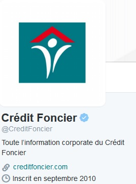 credit foncier contact twitter