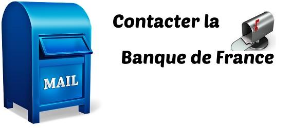 contact banque de france