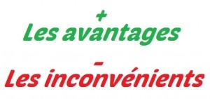 avantages inconvenient