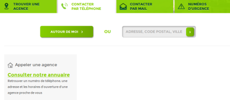 contact telephone credit agricole
