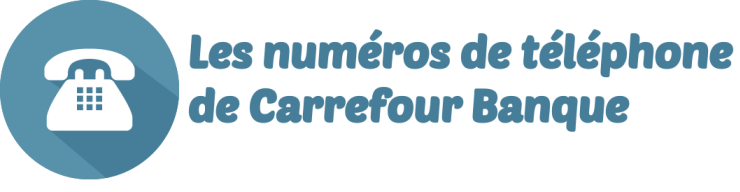 telephone carrefour banque