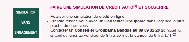 simulation groupama