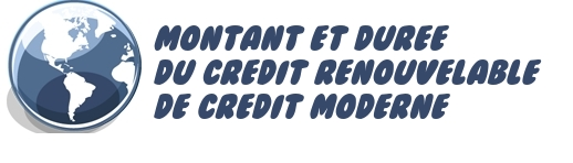 renouvelable credit moderne