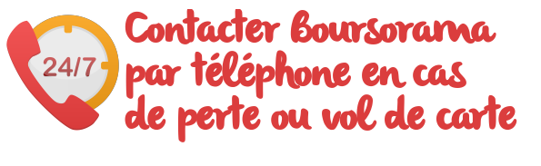 boursorama telephone