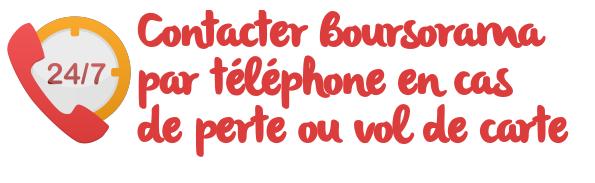 boursorama telephone