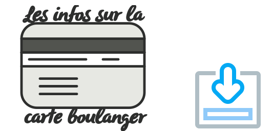 infos carte boulanger b+