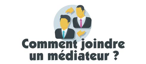 joindre mediateur banque credit