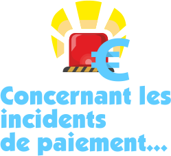 incident de paiement