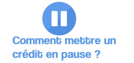 pause credit