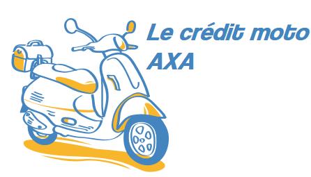 credit moto axa