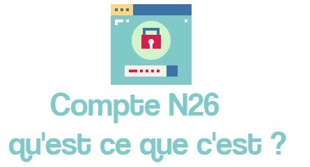 compte n26