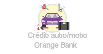 credit auto orange