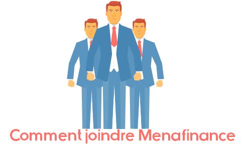 contacter menafinance