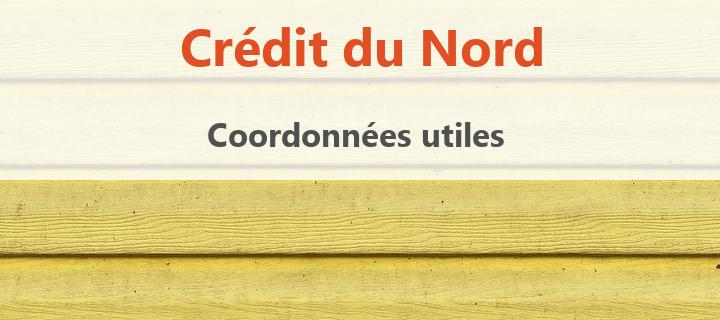 coordonnées credit du nord